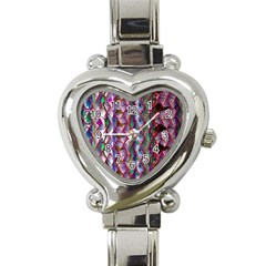 Textured Design Background Pink Wallpaper Of Textured Pattern In Pink Hues Heart Italian Charm Watch