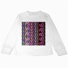 Textured Design Background Pink Wallpaper Of Textured Pattern In Pink Hues Kids Long Sleeve T Shirts