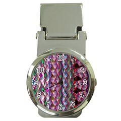 Textured Design Background Pink Wallpaper Of Textured Pattern In Pink Hues Money Clip Watches