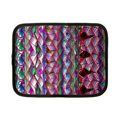 Textured Design Background Pink Wallpaper Of Textured Pattern In Pink Hues Netbook Case (small)