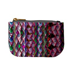 Textured Design Background Pink Wallpaper Of Textured Pattern In Pink Hues Mini Coin Purses