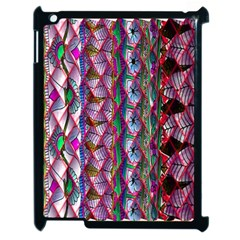 Textured Design Background Pink Wallpaper Of Textured Pattern In Pink Hues Apple iPad 2 Case (Black)