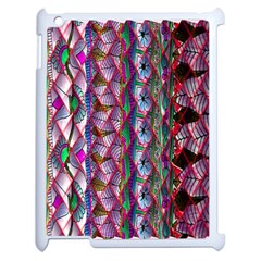 Textured Design Background Pink Wallpaper Of Textured Pattern In Pink Hues Apple Ipad 2 Case (white)