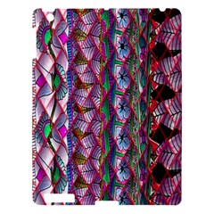 Textured Design Background Pink Wallpaper Of Textured Pattern In Pink Hues Apple iPad 3/4 Hardshell Case