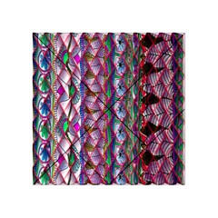 Textured Design Background Pink Wallpaper Of Textured Pattern In Pink Hues Acrylic Tangram Puzzle (4  X 4 )