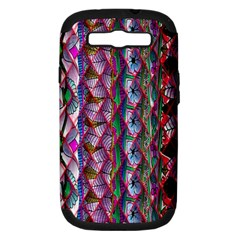 Textured Design Background Pink Wallpaper Of Textured Pattern In Pink Hues Samsung Galaxy S Iii Hardshell Case (pc+silicone)