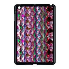 Textured Design Background Pink Wallpaper Of Textured Pattern In Pink Hues Apple Ipad Mini Case (black)