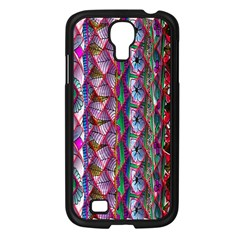 Textured Design Background Pink Wallpaper Of Textured Pattern In Pink Hues Samsung Galaxy S4 I9500/ I9505 Case (Black)
