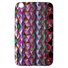 Textured Design Background Pink Wallpaper Of Textured Pattern In Pink Hues Samsung Galaxy Tab 3 (8 ) T3100 Hardshell Case