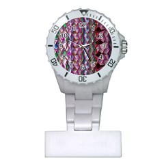 Textured Design Background Pink Wallpaper Of Textured Pattern In Pink Hues Plastic Nurses Watch