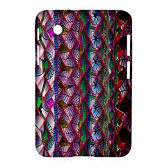 Textured Design Background Pink Wallpaper Of Textured Pattern In Pink Hues Samsung Galaxy Tab 2 (7 ) P3100 Hardshell Case