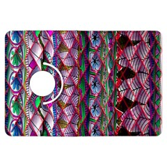 Textured Design Background Pink Wallpaper Of Textured Pattern In Pink Hues Kindle Fire HDX Flip 360 Case