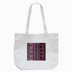 Textured Design Background Pink Wallpaper Of Textured Pattern In Pink Hues Tote Bag (white)