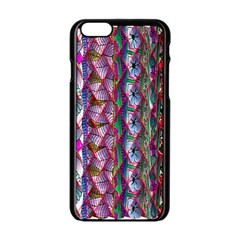Textured Design Background Pink Wallpaper Of Textured Pattern In Pink Hues Apple iPhone 6/6S Black Enamel Case