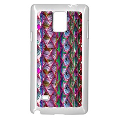 Textured Design Background Pink Wallpaper Of Textured Pattern In Pink Hues Samsung Galaxy Note 4 Case (White)