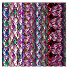 Textured Design Background Pink Wallpaper Of Textured Pattern In Pink Hues Large Satin Scarf (square)