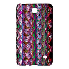 Textured Design Background Pink Wallpaper Of Textured Pattern In Pink Hues Samsung Galaxy Tab 4 (8 ) Hardshell Case