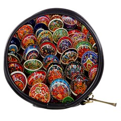 Colorful Oriental Bowls On Local Market In Turkey Mini Makeup Bags