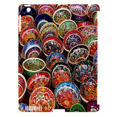 Colorful Oriental Bowls On Local Market In Turkey Apple Ipad 3/4 Hardshell Case (compatible With Smart Cover)