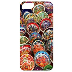 Colorful Oriental Bowls On Local Market In Turkey Apple iPhone 5 Classic Hardshell Case