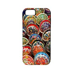 Colorful Oriental Bowls On Local Market In Turkey Apple Iphone 5 Classic Hardshell Case (pc+silicone)