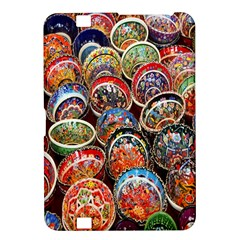 Colorful Oriental Bowls On Local Market In Turkey Kindle Fire Hd 8 9