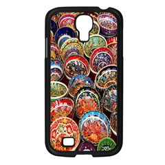 Colorful Oriental Bowls On Local Market In Turkey Samsung Galaxy S4 I9500/ I9505 Case (black)