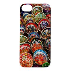 Colorful Oriental Bowls On Local Market In Turkey Apple iPhone 5S/ SE Hardshell Case