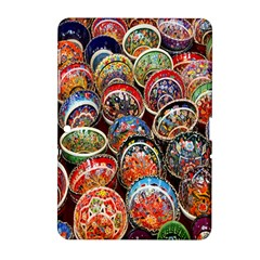 Colorful Oriental Bowls On Local Market In Turkey Samsung Galaxy Tab 2 (10 1 ) P5100 Hardshell Case