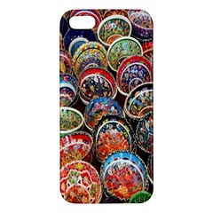 Colorful Oriental Bowls On Local Market In Turkey Iphone 5s/ Se Premium Hardshell Case