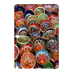 Colorful Oriental Bowls On Local Market In Turkey Samsung Galaxy Tab Pro 10.1 Hardshell Case
