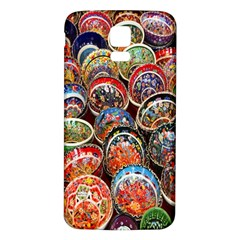 Colorful Oriental Bowls On Local Market In Turkey Samsung Galaxy S5 Back Case (white)