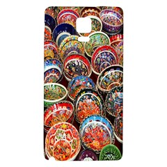 Colorful Oriental Bowls On Local Market In Turkey Galaxy Note 4 Back Case