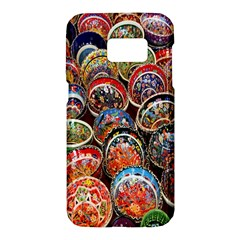 Colorful Oriental Bowls On Local Market In Turkey Samsung Galaxy S7 Hardshell Case