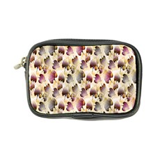 Random Leaves Pattern Background Coin Purse