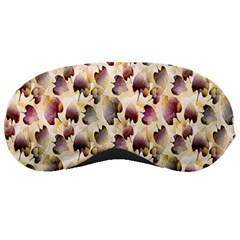 Random Leaves Pattern Background Sleeping Masks