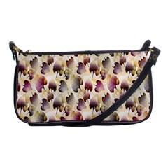 Random Leaves Pattern Background Shoulder Clutch Bags