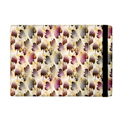 Random Leaves Pattern Background Apple Ipad Mini Flip Case
