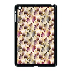 Random Leaves Pattern Background Apple Ipad Mini Case (black)