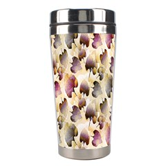 Random Leaves Pattern Background Stainless Steel Travel Tumblers