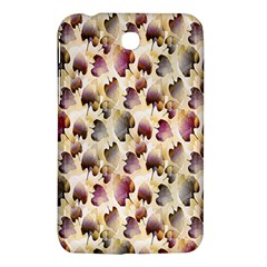 Random Leaves Pattern Background Samsung Galaxy Tab 3 (7 ) P3200 Hardshell Case