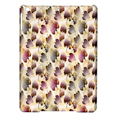 Random Leaves Pattern Background iPad Air Hardshell Cases