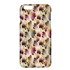 Random Leaves Pattern Background Apple Iphone 6 Plus/6s Plus Hardshell Case