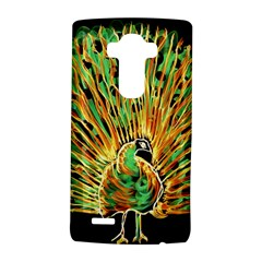 Unusual Peacock Drawn With Flame Lines Lg G4 Hardshell Case