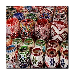 Colorful Oriental Candle Holders For Sale On Local Market Tile Coasters