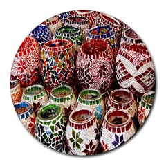 Colorful Oriental Candle Holders For Sale On Local Market Round Mousepads