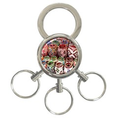 Colorful Oriental Candle Holders For Sale On Local Market 3 Ring Key Chains