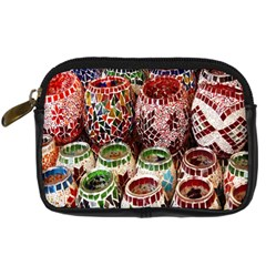 Colorful Oriental Candle Holders For Sale On Local Market Digital Camera Cases