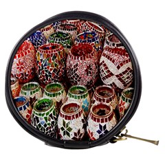 Colorful Oriental Candle Holders For Sale On Local Market Mini Makeup Bags