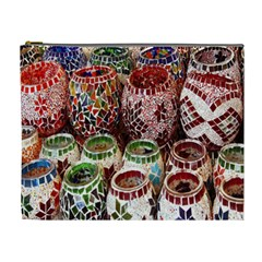 Colorful Oriental Candle Holders For Sale On Local Market Cosmetic Bag (XL)